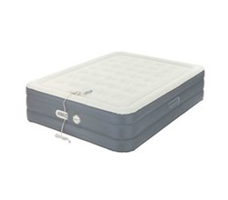 Built In Air Pumps aerobed queen size adjustable antimicrobial bed with built in pump
