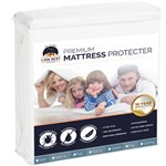 Lion Rest Twin Size Fitted Mattress Protector